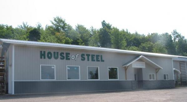 Steel Roofing Amp Siding Pole Barns Timber Column